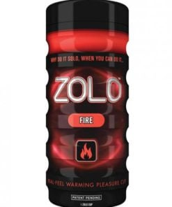 Zolo Fire Real Feel Pleasure Cup Red