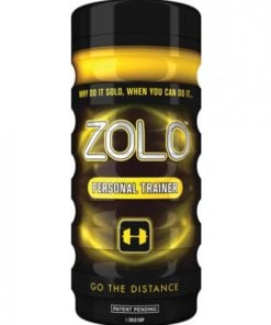Zolo Real Feel Personal Trainer Cup Yellow