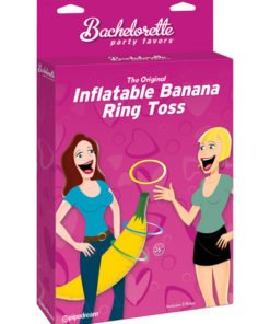 Bachelorette party favors inflatable banana ring toss game