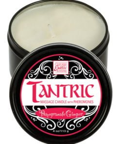 Tantric soy candle w/pheromones – pomegranate ginger