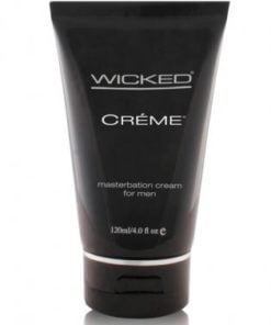 Wicked sensual care collection 4 oz creme to liquid masturbation cream for men – creme